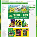 $5 off Orders over $30 at Woolworths Online