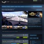 Euro Truck Simulator 2 - 85% Discount ($3.74USD) on Steam
