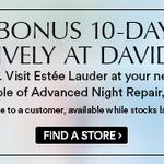 [FREE] Estee Lauder Advanced Night Repair Deluxe Sample @ David Jones