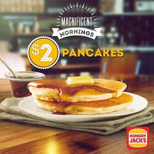 2 pancakes at hungry jacks ozbargain ccuart Gallery