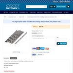 Free Sample High Speed Steel Drill Bits 10PC from Max Top Tools