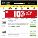 Dick Smith - OzBargain Exclusive - 10% off Apple Mac + Further 7.5% off with Coupon & 5% off iPads