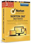 NORTON 360 Multi Device 3 Devices $4 [after $40 Cashback] @ Dick Smith eBay