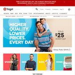 Target - $10 off $60 Spend on Clothing & Homewares (Full Price - Excludes Electrical)