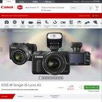 Canon EOS M with Speedlite 90EX - $389 Delivered @ Canon Aus