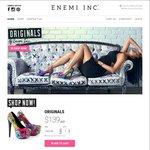 20% off Enemi Heel Originals - $112 + Postage @ Enemi Inc