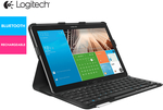 Logitech Keyboard Protective Case for Samsung Galaxy Note Pro $29 + $9.99 Shipping @ Scoopon