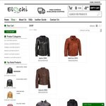 Leather Jackets Online Shop - US$40 (~AU$52.75) off on Any Purchase (Free Shipping) @ Elochi.com