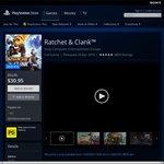 AU PSN PS4 Ratchet & Clank AU $30.95