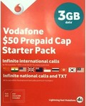 Vodafone $50 SIM Starter Pack and a Random $2 SIM (for Porting): $20 Shipped (20GB Data with 56 Day Expiry) @ Phonebot