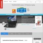 """Lenovo ThinkPad E460 i7-6500U, 14"""" FHD, 16GB RAM, 256GB SSD, R7 M360 $899 Delivered"""