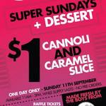 $1 Cannoli or Caramel Slice, 11/9, 11AM-3PM @ The Petersham Inn (Sydney)