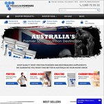 $10 OFF Plus FREE Creatine When You Spend $100 or More at Premium Powders Australia