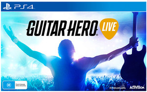 Guitar Hero Live with Guitar Controller $25 (Was $79