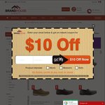 Click Frenzy: Mens Shoe Sale - Starting From $19.95, Nothing Over $80 - Save Up To 50% Off RRP @ Brand House Direct