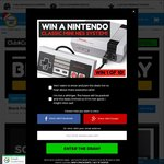 Win 1 of 10 Nintendo Classic Mini NES Systems from Catch of The Day