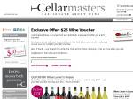 [EXPIRED] Free $25 voucher @ Cellarmasters. Thanks to Quickflix