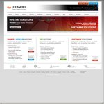 35% off Melbourne Based cPanel/WHM & VPS Hosting Plans - from $4.95/M - Deasoft.com