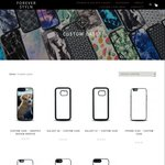 Custom iPhone & Galaxy Cases - Design Your Own with The Designer Tool - 50% off $7.95 @ Foreverstyln