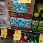 Up and Go Short Dated 350ml Choc Ice $0.50 Each at NQR + Other Deals