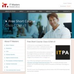Free Short Course: Cisco CCNA V3 @ IT Masters