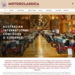 Motorclassica 2017 (Melbourne) - Adult Ticket - $30 (RRP $35)