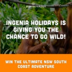 Win a Mogo Zoo Experience & Accommodation Package for 4 Worth $2,000 from Ingenia Holidays