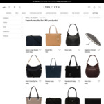 Signature Medium O Tote Oroton Bag $118.50 (RRP $395) @ Oroton AU