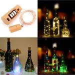 2M 20 LED Cork Bottle Stopper Light Glass Wine Copper Wire Fairy Light String US $2.30 (AU $3.10) Delivered @ Tmart