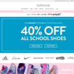 Betts Kids 40% off School Shoes