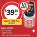 Nokia 3310 3G (Vodafone Locked) $39.50 @ Coles