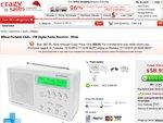 MBeat Portable DAB+ / FM Digital Radio Receiver - White $59 + $7 Shipping