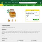La Fournee Doree Brioche Burger Rolls 4-Pack $2.49 (Half-Price) @ Woolworths