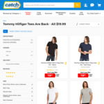 $19.99 Tommy Hilfiger Tees + Shipping @ Catch