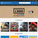 10% off Sitewide (Exclusions Apply) @ OzGameShop