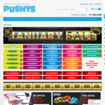 Extra 30% off January Sale Products (Discount Increased for 2 Days) @ Pushys