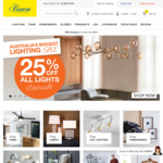 Beacon Lighting 25% off Online and Instore