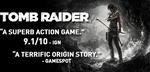 [PC] Tomb Raider Standard $2.99 US (~$3.88 AU), Tomb Raider GOTY $4.49 US (~$5.84 AU) @ Steam
