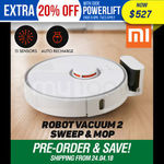 Xiaomi 2nd Gen Mi Robot Vacuum Cleaner $527 Delivered @ Mytopia eBay