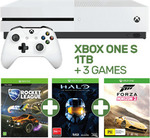 Xbox One S 1TB Console + 3 Games $349 @ EB Games