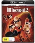 The Incredibles 4K Ultra HD/Blu Ray $20.24 at JB Hi-Fi