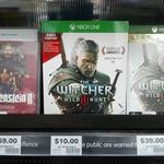 [XB1] The Witcher 3: Wild Hunt $10 @ Big W