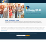 Get AUD $40 Promotional Gift Card When Spending $200 or More at Newegg AU