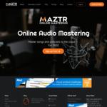 Maztr Pro - First Month Free @ Maztr Online Audio Mastering