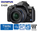 Olympus E-620 D-SLR Twin Lens Kit - $800 - Free Postage - Catch of the day.