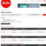 Air Asia Flash Sale - One Way Tickets from US $3, around SE Asia Mainly, Must Be BIG Member (Free Signup), Feb-Nov '19
