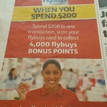 4000 Flybuys Points (Worth $20) When You Spend $200 Instore/Online @ Coles