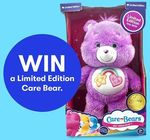 Win 1 of 6 Limited Release Collector's Edition Care Bears from Big W [Colouring-in Competition for Children Aged 12 and under]