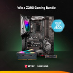 Win an MSI Motherboard/Samsung SSD/Corsair Memory Bundle Worth Over $900 from Scan