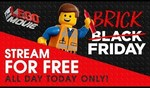 Free Streaming of The LEGO Movie on Black Friday @ YouTube